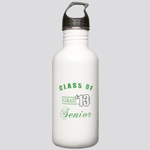 Class Of 2013 (Distressed, Green) Stainless Water