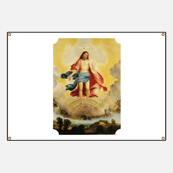 Resurrection with the Holy Spirit Banner