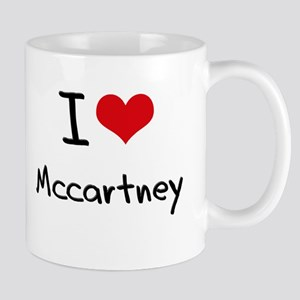 I Love Mccartney Mug