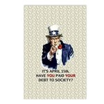 Debt 2 Society Postcards (Package of 8)