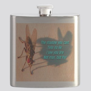 Not Man But Fly Flask