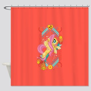 My Little Pony Fluttershy Feathers Shower Curtain