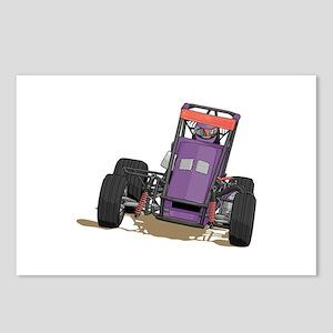 Drag Racing Car Postcards (Package of 8)