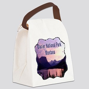 Glacier National Park Canvas Lunch Bag