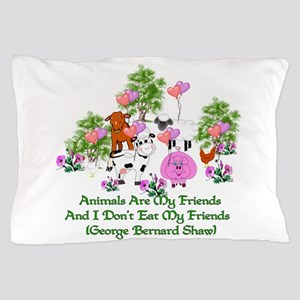 Shaw Anti-Meat Quote Pillow Case