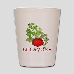 Locavore Shot Glass