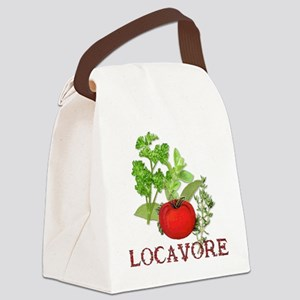 Locavore Canvas Lunch Bag