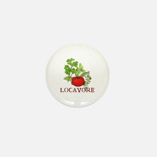 Be A Locavore Mini Button