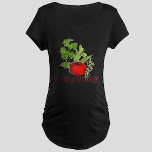 Locavore Maternity Dark T-Shirt