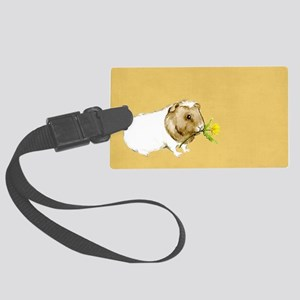 Watercolor Guinea Pig II Large Luggage Tag