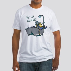 Do I Log This Dive? Fitted T-Shirt