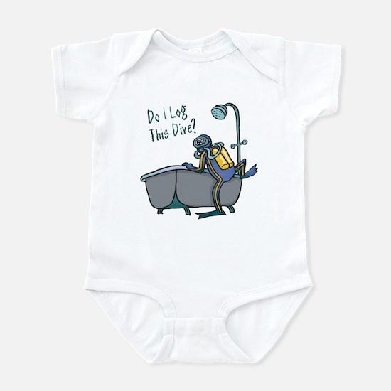 Do I Log This Dive? Infant Bodysuit