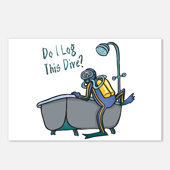 Do I Log This Dive? Postcards (Package of 8)