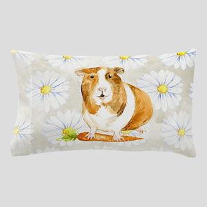 Watercolor Guinea Pig Pillow Case
