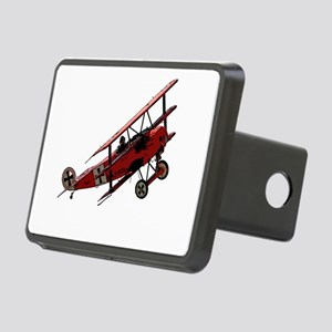 The Red Baron Rectangular Hitch Cover