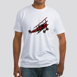 The Red Baron Fitted T-Shirt