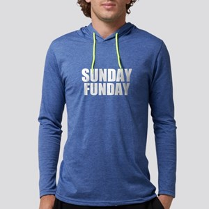 Sunday Funday Mens Hooded Shirt