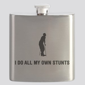 On Crutches Flask