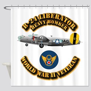 AAC - B-24 - 8 AF Shower Curtain