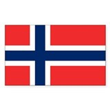 Norwegian flag 10 Pack