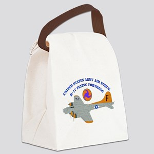 USAAF - B-17 Flying Fortress Canvas Lunch Bag