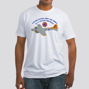 USAAF - B-17 Flying Fortress Fitted T-Shirt