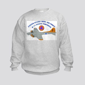 USAAF - B-17 Flying Fortress Kids Sweatshirt