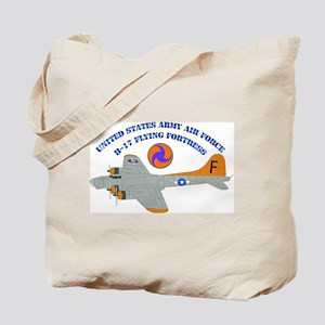 USAAF - B-17 Flying Fortress Tote Bag