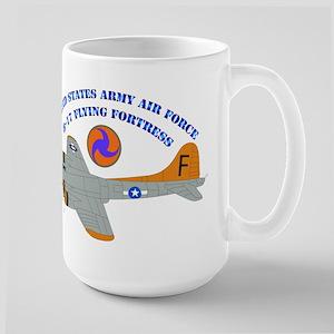 USAAF - B-17 Flying Fortress Large Mug
