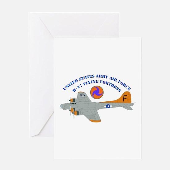 USAAF - B-17 Flying Fortress Greeting Card