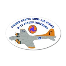 USAAF - B-17 Flying Fortress Wall Decal