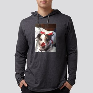 Gromit Dressed As A Gift! Mens Hooded Shirt