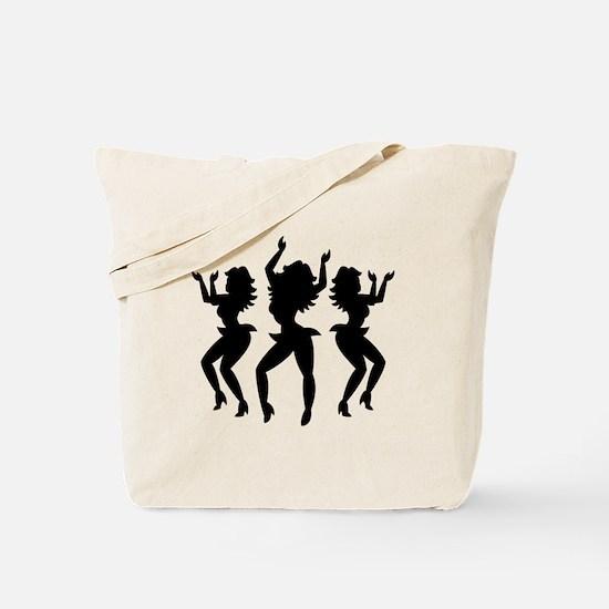 Dancing Girls / Bailarinas Tote Bag