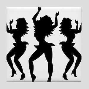 Dancing Girls / Bailarinas Tile Coaster