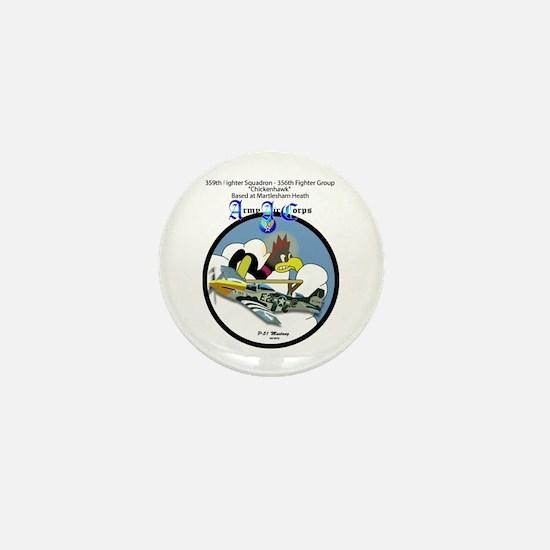 359th Fighter Squadron - 356th Fighter Mini Button