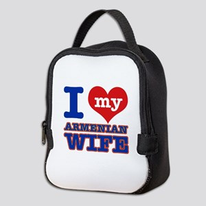 I love my Armenian Wife Neoprene Lunch Bag