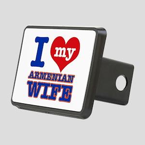 I love my Armenian Wife Rectangular Hitch Cover