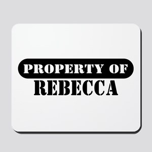 Property of Rebecca Mousepad
