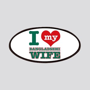 I love my Bangladeshi Wife Patches