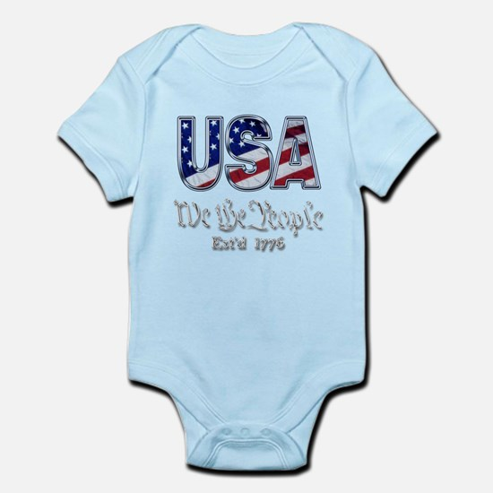 USA Infant Bodysuit