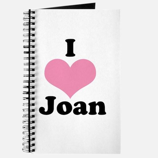 I heart Joan 1 Journal