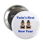 Twins First New Year African Button