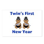 Twins First New Year African Postcards (Package o