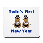 Twins First New Year African Mousepad