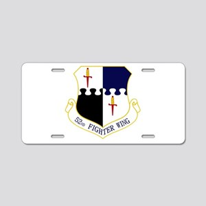 52nd FW Aluminum License Plate