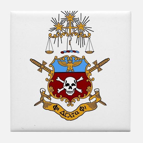 Logo Crest Tile Coaster