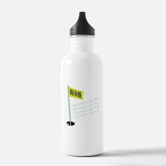 Golf Hole in One Sports Water Bottle
