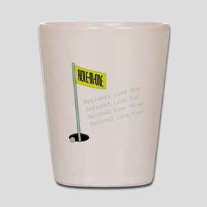 Golf Hole in One Shot Glass