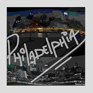 philadelphia Tile Coaster
