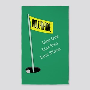 Golf Hole in One 3'x5' Area Rug
